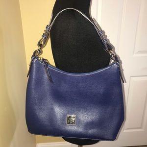 Dooney & Bourke Navy Blue Shoulder Bag Purse NWOT